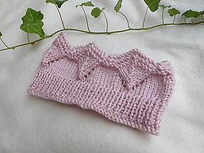 Detské čiapky - detská čelenka -korunka - 13651019_