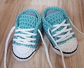 Detské topánky - Mentolové tenisky - 13653231_