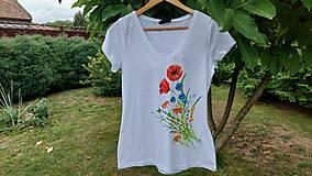 Tričká - Tričko lúčne kvety - 13656299_