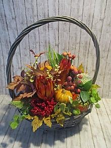Dekorácie - Jesenná dekorácia - 13655170_