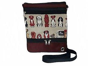Iné tašky - Taška pre venčenie psov crossbody crossbody Dogs - 13653718_