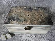 Krabičky - Truhla, bedýnka - Vesmírná - 13655736_