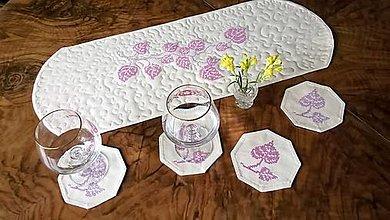 Úžitkový textil - Vyšívaná dečka na stôl - 13653498_