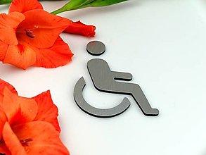 Tabuľky - Označenie pre WC - pre invalidov - 13654014_