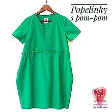 Šaty - Zelené... - 13656955_