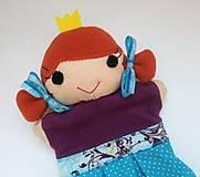 Hračky - Maňuška princezná (v tyrkysovej sukienke) - 13656964_