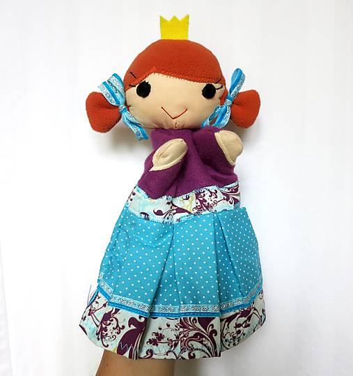 Maňuška princezná (v tyrkysovej sukienke)