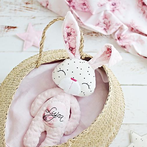 Hračky - Zajačik Baby Pink  - 13656882_