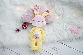 Hračky - Zajačik žltý - 13656912_