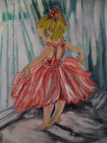 Kresby - Baletka - 13657726_