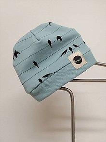 Detské čiapky - Čiapka (Papagaj) - 13657180_