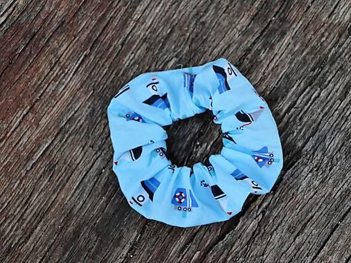 Scrunchies gumička lode rôzne