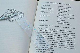 Papiernictvo - Záložka do knihy (M201) - 13662027_