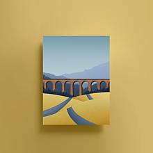 Grafika - Chmarošský viadukt | Limitovaná edice - 13659903_