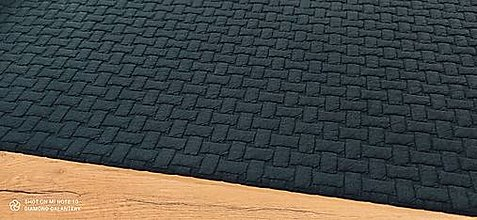 Textil - Úplet - Pletenina - cena za 10 centimetrov (Modrá) - 13665043_
