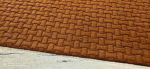 Textil - Úplet - Pletenina - cena za 10 centimetrov (Škorica) - 13665049_