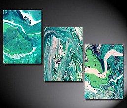 Obrazy - Green set - 13663801_