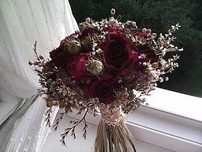 Dekorácie - Svadobná kytička z prírodných kvietkov ... dvaja ... - 13663925_