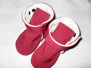 Detské topánky - softshellové čižmičky do nosiča - 13663877_