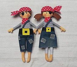 Hračky - Piráti bábiky - 13662535_