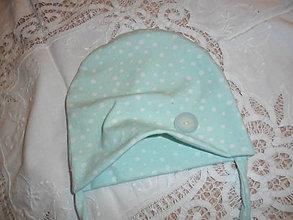 Detské čiapky - Čiapočka pre bábätko. - 13664760_