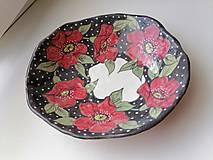 Nádoby - keramika misa kvety.. .. - 13662983_