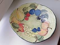 Nádoby - keramika misa ovocna. .. - 13663001_