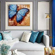 Obrazy - Blue butterfly 2 - 13667456_