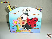 Detské doplnky - Stojan - na ceruzky - 13665938_