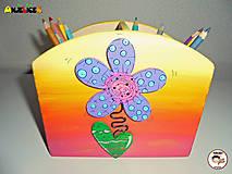 Detské doplnky - Stojan - na ceruzky - 13665944_