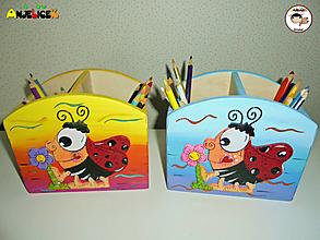 Detské doplnky - Stojan - na ceruzky - 13665933_