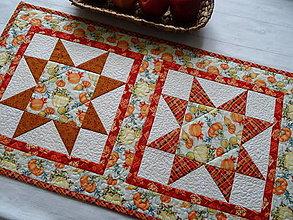 Úžitkový textil - Pumpkin Spice ... obrus - 13668470_