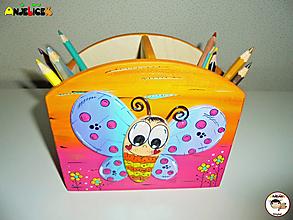 Detské doplnky - Stojan - na ceruzky - 13669330_