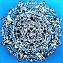 Obrazy - MANDALA DOKONALEJ HARMÓNIE-energetický feng shui obraz - 13668354_