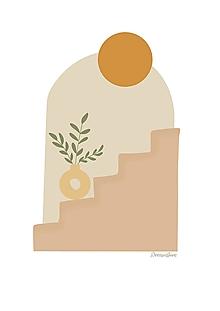 "Grafika - Ilustrácia "" Terracotta vibes"" - 13669248_"