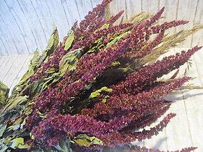 Dekorácie - Sušená prírodná kytica - 13670716_