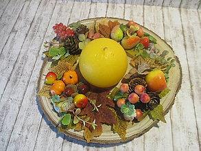 Dekorácie - Jesenná dekorácia - 13670961_