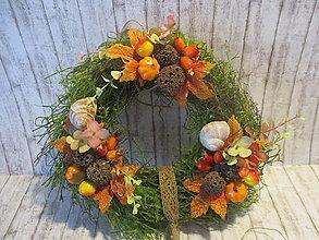 Dekorácie - Jesenný venček - 13671031_