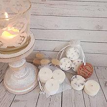 Darčeky pre svadobčanov - Sójové čajové sviečky aj pre svadobných hostí - 13671833_