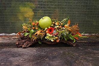 Dekorácie - Jesenný aranžmán - 13672784_