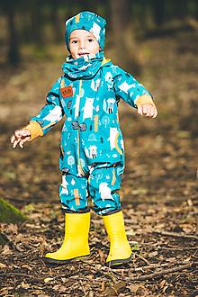 Detské oblečenie - Softschell overal - 13671827_