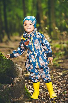 Detské oblečenie - Softschell overal - 13671846_