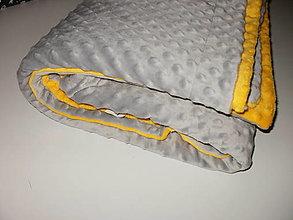 Úžitkový textil - minki deka - 13671970_