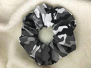 Ozdoby do vlasov - Retro gumička do vlasov - 13670960_