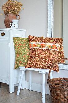 Úžitkový textil - Jesenné vankúše - 13674005_