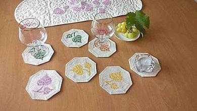 Úžitkový textil - Podložky na stôl - rôzne farby - 13673940_