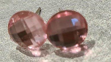 Náušnice - Náušnice kryštáliky - 13674256_