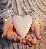 Dekorácie - Drevené srdce, ružové ❤️ - 13675441_