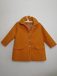 Detské oblečenie - Detský flaušový kabát - 13676965_