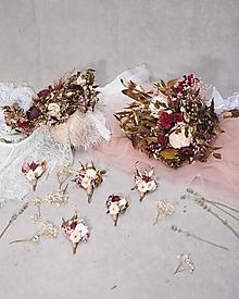 Kytice pre nevestu - Svadobný setík na želanie  - 13677007_